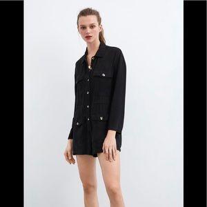 Zara Shorts Jumpsuit